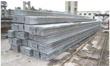 Technology of high-effectively precast long i-beam piles production, without sheathing formation lines.